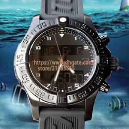 Wholesale New Fashion Designer Watches Men Luxury Avenger Series Multifunction Chronograph Wristwatches Electronic Dual Time Zone Display Sport Watch