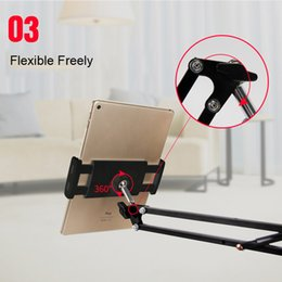 $enCountryForm.capitalKeyWord Australia - Mobile Accessories Mobile Holders Stands Long Arm Lazy Holder Flexible Desktop Phone Stand Mount Bracket for 4-12.9 inches Phone Tablet