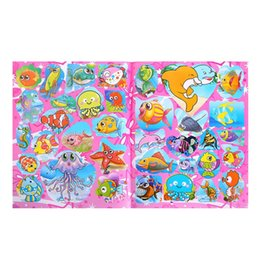 book toys NZ - Baby Drawing Book Kids DIY Crafts Toy Baby Educational Painting Coloring Drawing Toys With Stickers