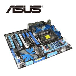 Motherboard Lga1156 Australia - LGA1156 For Intel P55 DDR3 ASUS P7P55D EVO Motherboard 3xPCI-E X16 P7P55D-EVO Desktop Mainboard 2200Mhz Overclocking Deluxe Used