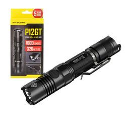 $enCountryForm.capitalKeyWord Australia - Nitecore P12GT Portable Tactical Flashlight 1000 Lumens by CREE XP-L HI V3 LED