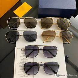 $enCountryForm.capitalKeyWord NZ - 2019Louis G15 Glass Lens Metal Hinge Brand Designer Men Women Plank Frame Sunglasses UV400 52MM 54MM Vintage Sun Glasses With Box Case