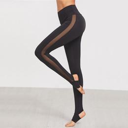 $enCountryForm.capitalKeyWord Australia - Fashion Yoga Pants Womens Mesh Splice Yoga Skinny Workout Gym Leggings Fitness Sports Pants mallas deporte mujer
