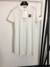 Milan Runway Dress 2020 Lapel Neck Short Sleeve Print Designer Designer Dress Brand Same Style Dress 0321-9 on Sale