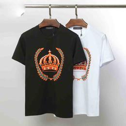 popular brand t shirts 2019 - 2019 Men Designer Men Brand Fashion Luxury Short Sleeve Mens Clothes Popular Pattern Breathable T Shirt special edition