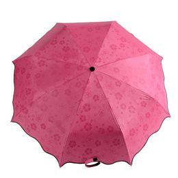 $enCountryForm.capitalKeyWord Australia - 2017 Manual Princess UV Protection Manual Umbrella Lady's Flower Black Coating Wet Umbrella Shows paern Free shipping