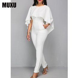 Orange Jumpsuits For Women Australia - Rompers Womens Jumpsuit Body Bodies Woman White Jumpsuit For Women White Romper Europe And The United States Jumpsuits Rompers J190402