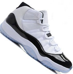 778be878a546 11 Mens 11s Basketball Shoes Concord 45 Platinum Tint Space Jam Gym Red Win  Like 96 XI Designer Sneakers Men jumPMan Sport Shoes