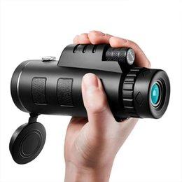 $enCountryForm.capitalKeyWord Australia - HD 40x60 Monocular Telescope Zooming Focus Green Film Binoculo Night Vision High Definition Mobile Phone Telescope with BAK4 optical prism