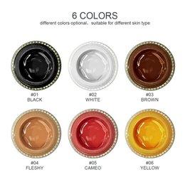 Gel Eyes Liner Australia - Makeup Colorful Fixline Eyeliner Gel WaterProof Brighten Color Eye Liner With Special Brush Have 6 Different Colors 5g