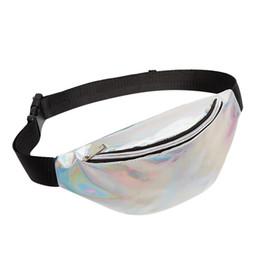 $enCountryForm.capitalKeyWord UK - New Fanny Pack Girl Waist Bag 2019 Women Travel Handbags Beach Shoulder Bag Laser Heuptas Holographic Pouch Belt Chest #40