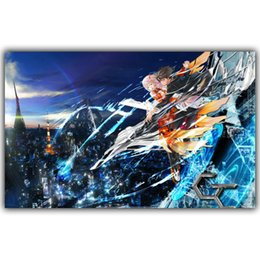 painting crown NZ - GUILTY CROWN wall decor Art Silk Print Poster