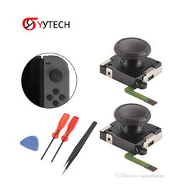 $enCountryForm.capitalKeyWord NZ - SYYTECH Tweezer Metal Joystick Tool Set Thumb Stick Repair Parts Left And Right Game Rocker 3D Analog For Nintend