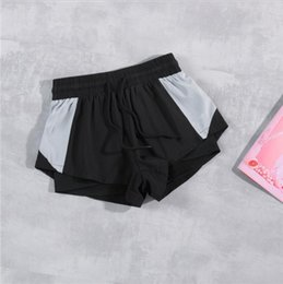 sexy black women booty NZ - 2020 New LN2122 Women Fashion Summer Casual Shorts Woman Stretch High Waist Booty Shorts Female Black White Loose Beach Sexy Short