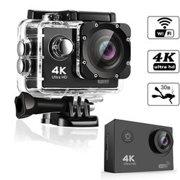 action cameras hd NZ - 4K sports camera HD 1080P action cameras Helmet cameras Waterproof Sport DV Bicycle skate Recording Camcorde