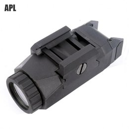 Wholesale Trijicon High Quality APL Tactical Weapon Light Constant Momentary Strobe Flashlight LED White Light For Hunting