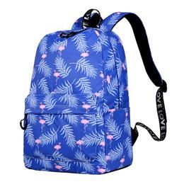 $enCountryForm.capitalKeyWord UK - Designer-CIKER Cute Waterproof Women Backpack Flamingo Pattern Lady Travel Bookbag Animal Printing School Bags For Teenage Girls Mochilas
