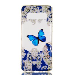 iphone skull silicone 2019 - For Sony XZ4 Galaxy S10 Lite J4 J6 Plus A9 2018 Unicorn Lace Flower Soft TPU IMD Case Cover Skull Butterfly Owl Dreamcat