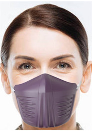 safety mask types 2021 - In Stock Stereo Half Face Shield Earloop Type Anti Saliva Particulate Fog Dust Protective Mask Cover Safety Mouth Masks