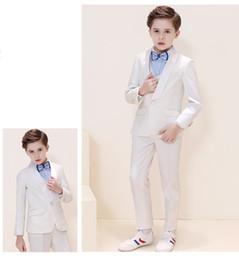 Handsome Kids Suits Australia - Handsome One Button Shawl Lapel Kid Complete Designer Handsome Boy Wedding Suit Boys' Attire Custom-made (Jacket+Pants+Tie+Vest) A15