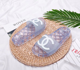 Casual slip wedge shoes online shopping - New Low price Sales Designer Sandals Designer Shoes Luxury Slide Summer Fashion Wide Flat Slippery Sandals Slipper Flip Mules with Box