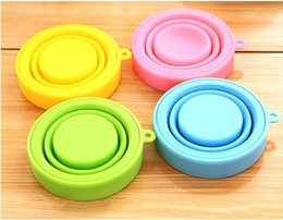 $enCountryForm.capitalKeyWord NZ - Silicone Telescopic Collapsible Retractable Folding Cup Outdoor Camping Travel Tableware Foldable Cup Camping Wine Glass 170m DH0068