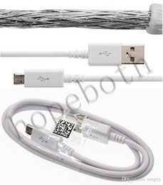 charger cable samsung s5 NZ - High speed charge N7100 Micro USB charger Cable high Quality with braided for samsung galaxy S4 S5 S6 Note Galaxy Factory sale cheap