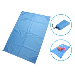 Security & Protection Double Sided Foldable Waterproof Aluminum Foil Mat Outdoor Travel Beach Mat Sleeping Mattress For Camping Hiking To Suit The PeopleS Convenience