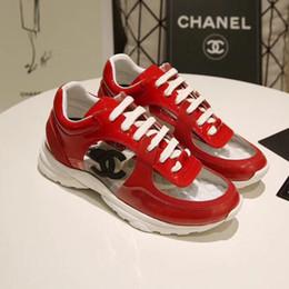 Diseñador de lujo para hombre zapatos casuales de corte bajo zapatillas de deporte transparentes superestrellas de moda Clásico de las mujeres zapatos de pareja modelos de pareja envío gratis en venta