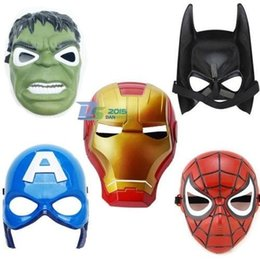 Wholesale Superhero Kids Children Captain America Avenger Costume Mask Halloween Party Toy t158
