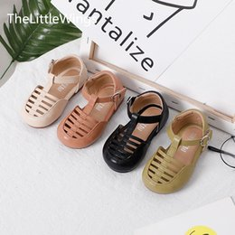Discount korean girls fashion heels Baby toddler shoes new boys' girls' shoes spring summer 2020 Korean fashion sandals 0-1 years old Super soft a