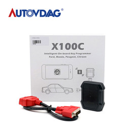 Engine C Australia - XTOOL X100C X100 C Auto Key Programmer for Fo-rd Mazda Peugeot Citroen 4 in 1 pin code reader better than F100 F108 F102