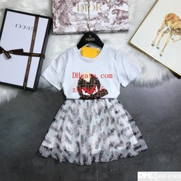 Clothes Embellishment Australia - 2019 New Sale childrens clothes kids clothing set Unisex fashion loose cute Little monster embellishment