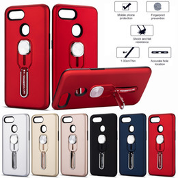 $enCountryForm.capitalKeyWord Australia - Fashion Case For OPPO A37 F2 A39 A57 A59 F1S A3S A5 F7 F9 R17 Pro A1K A7 A5s F11 Pro Realme 2 Cell Phone Metal magnetic bracket Cover case