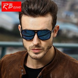 classic plastics Australia - RBROVO 2018 Polarized SunGlasses Men Square Vintage Classic Plastic Sun Glasses Driving Outdoor Lunette Soleil Homme HD UV400