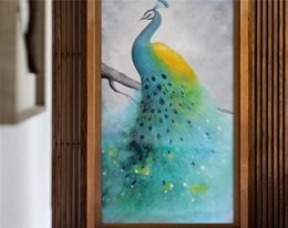 $enCountryForm.capitalKeyWord Australia - 3D Peacock Wall Mural Printed Photo Wallpaper Large Size for TV Background Wall Decor Wall Papers papier peint Hallway Murals