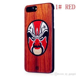 $enCountryForm.capitalKeyWord NZ - New model Fine knitted embroidery Red face bamboo, Cherry Blossom wood, black walnut wood three kinds of mobile phone protective s