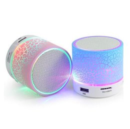 $enCountryForm.capitalKeyWord UK - A9 big crack bluetooth speaker mini portable led colorful glare wireless mobile phone promotional gift speaker