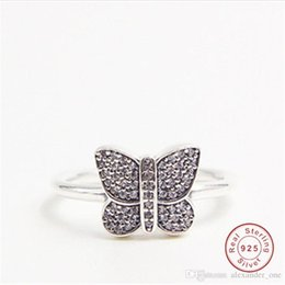 Parure jewelry online shopping - Parure Bijoux Femme Rings For Women Butterfly Romantic Wedding Jewelry Uphot Vintage silver Color Bridal Engagement Ring
