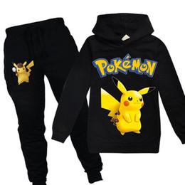 cb5b2d81c Pikachu t shirt online shopping - GO Detective Pikachu Kids boys girls  clothes Autumn Sweatshirt Cotton