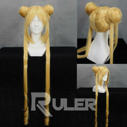$enCountryForm.capitalKeyWord NZ - 90CM Anime Sailor Moon Cosplay Wig