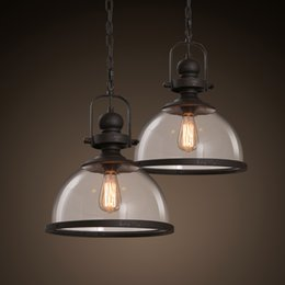 Captivating Discount Industrial Lighting Fixtures For Home   Loft Vintage Iron Pendant  Lights Industrial Decor Hanging Lamp