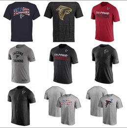 Pro black t shirts online shopping - 2019 Atlanta Hot Style Men Falcons Salute To Service Pro Line by Fanatics Branded Iconic Color Blocked T Shirt Red White Gray Black