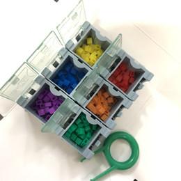$enCountryForm.capitalKeyWord Australia - 180pcs pack chameleon DIY gadget for Mechanical Keyboard White Light Change Colour Rgb Rainbow Lamp Cap with free key cap puller