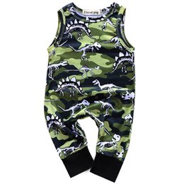 $enCountryForm.capitalKeyWord Canada - Baby Rompers Clothes Hoodie Climbing Men Women Sleeveless Without Hat Camouflage Dinosaur Covered With Camouflage Green 1