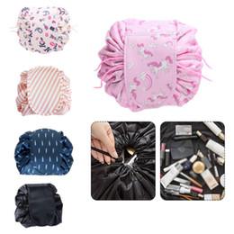 $enCountryForm.capitalKeyWord Australia - Women Drawstring Travel Cosmetic Bag Makeup Bag Organizer Make Cosmetic Case Storage Pouch Toiletry Beauty Kit