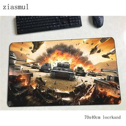 computer worlds Australia - world of tanks mouse pad Halloween Gift Computer mat 70x40cm gaming mousepad large Fashion padmouse keyboard games pc gamer desk