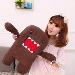$enCountryForm.capitalKeyWord NZ - 40cm Japan Domo Kun Creative Kawaii Plush Toys Domokun Film Cartoon Stuffed Doll Baby Infant Child Toys Birthday Xmas Gift Dash J190717