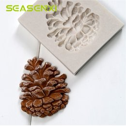 Diy jelly molDs online shopping - Fondant Silicone Mold Pine Nuts Cone DIY Decor Molds Candy Jelly Soap Mould Chocolate Cake Decorative Baking Tool Kids