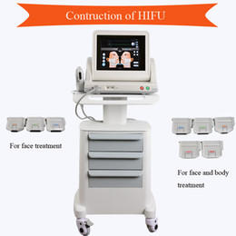 China 2018 Skin Tightening hifu machine high intensity focused ultrasound Wrinkle Removal hifu machines for face salon use cheap ultrasound machine for skin tightening suppliers